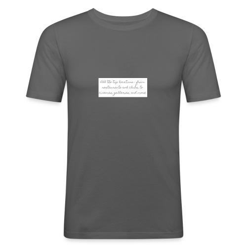 wf - Slim Fit T-shirt herr