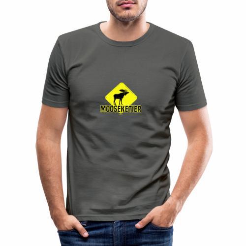 Moosketier - Mannen slim fit T-shirt