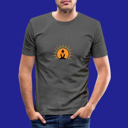Guramylyfe logo no text black - Men's Slim Fit T-Shirt