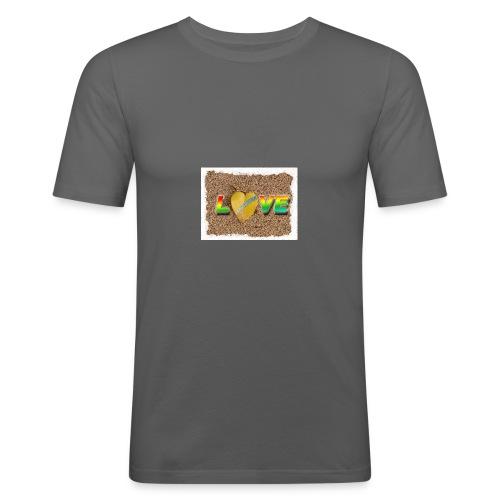 love,madinina - T-shirt près du corps Homme