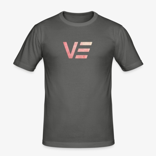 VEEE Vintage Logo - Männer Slim Fit T-Shirt