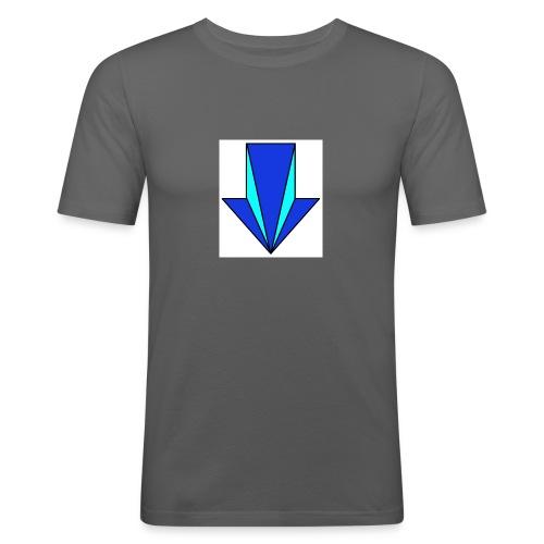 flecha - Camiseta ajustada hombre