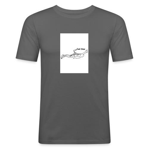feel free - Männer Slim Fit T-Shirt