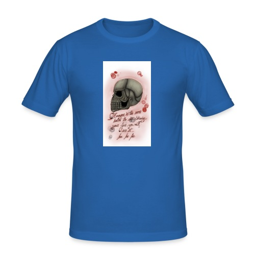 Sketch182181946-png - Camiseta ajustada hombre