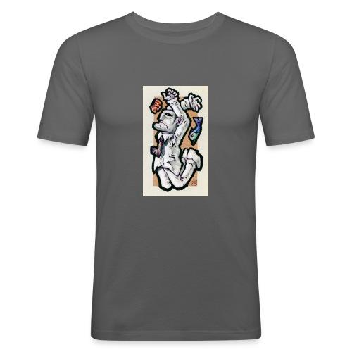 amboLO - Maglietta aderente da uomo