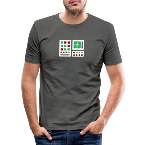 Classic Computer 2 - Männer Slim Fit T-Shirt