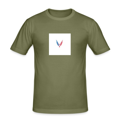 American bird. - Men's Slim Fit T-Shirt