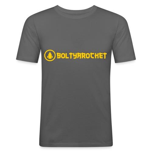 Bolt Ya Rocket - Men's Slim Fit T-Shirt