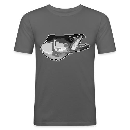 Pixel Zander Tee - Slim Fit T-shirt herr