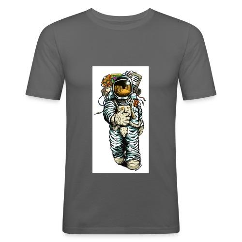 Astronaut png - Men's Slim Fit T-Shirt