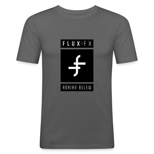 FLUXFX_logo_belew - Men's Slim Fit T-Shirt