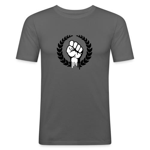 la resistance - Mannen slim fit T-shirt