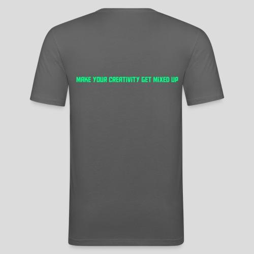 Get Mixed Up - Men's Slim Fit T-Shirt