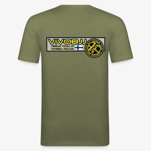 ViVoBJJ Patch - Miesten tyköistuva t-paita
