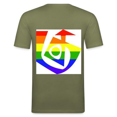 Queer Soul[287] - Männer Slim Fit T-Shirt