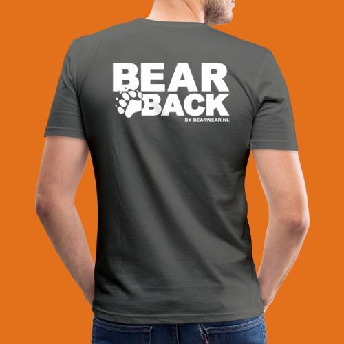 bearback new - Men's Slim Fit T-Shirt