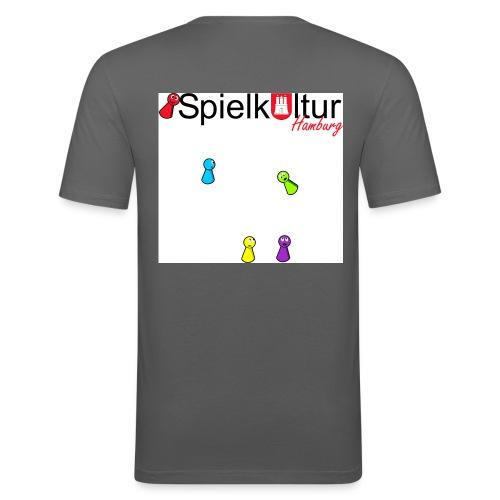 Logo Poeppel2 jpg - Männer Slim Fit T-Shirt