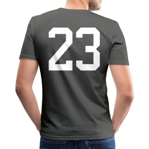 23 VISUR Stefan - Männer Slim Fit T-Shirt