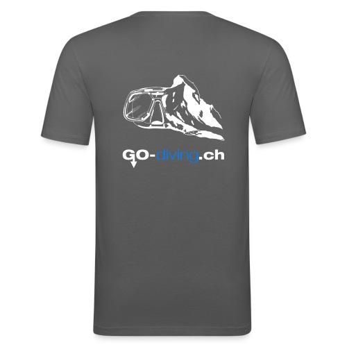 Go Diving - T-shirt près du corps Homme