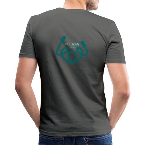 AFAfitness - Maglietta aderente da uomo