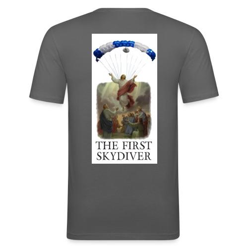 skydiver 02 - Männer Slim Fit T-Shirt