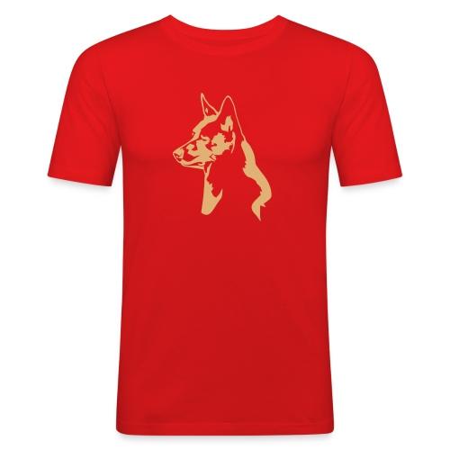australiankelpie - Miesten tyköistuva t-paita