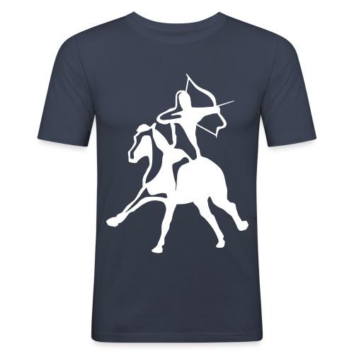 EMAC_logo_jousiratsu - Miesten tyköistuva t-paita
