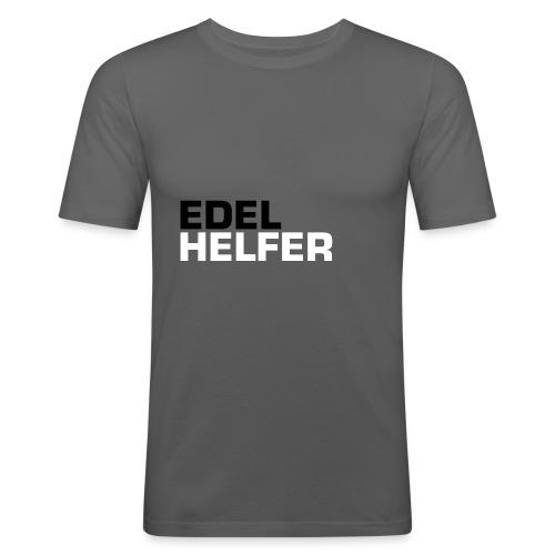 edelhelfer - Männer Slim Fit T-Shirt