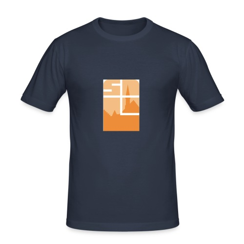 Logo-VZW-Sint-Lodewijk-jpg - slim fit T-shirt
