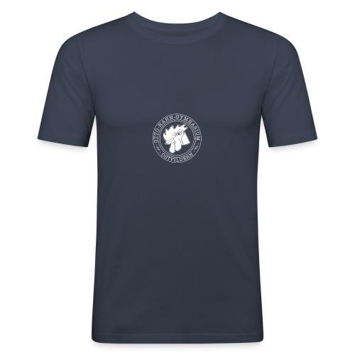CIRCLE DESIGN - Männer Slim Fit T-Shirt