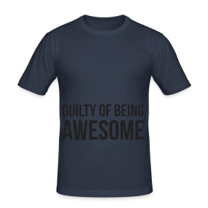 Guilty of being Awesome - Men's Slim Fit T-Shirt