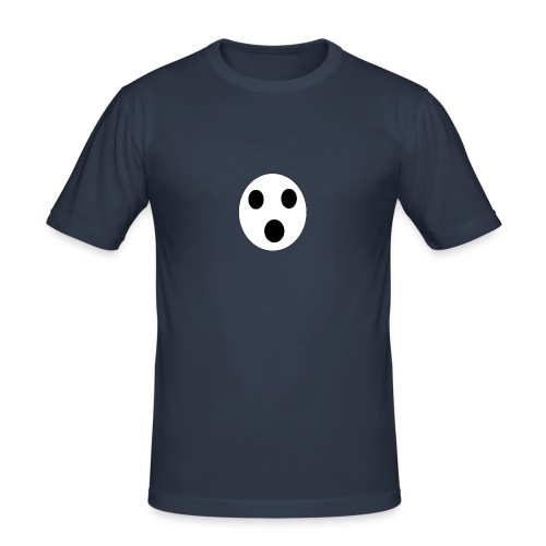 Sort Uni T-shirt - Herre Slim Fit T-Shirt