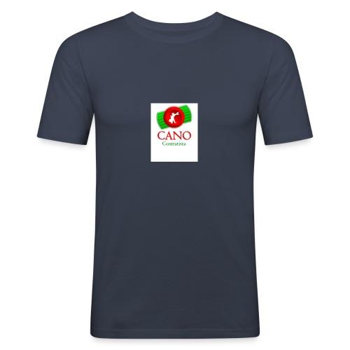 logo_cano - Camiseta ajustada hombre