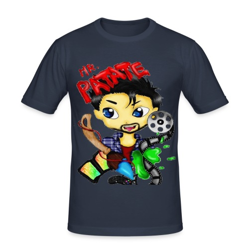 Mr Patate - T-shirt près du corps Homme