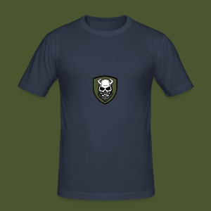Beardevil Patch - Slim Fit T-shirt herr