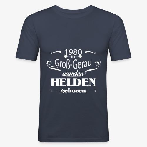 Groß Gerau 1980 - Männer Slim Fit T-Shirt