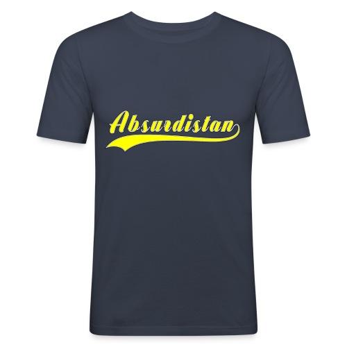 Absurdistan - Slim Fit T-shirt herr