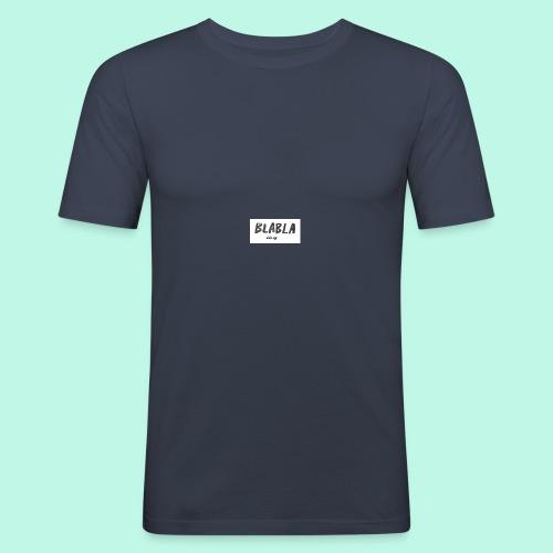 BLA BLA - Männer Slim Fit T-Shirt