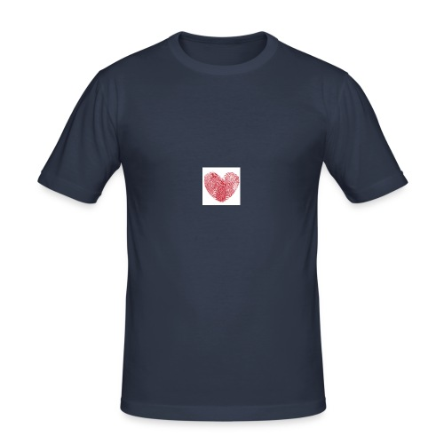 amor - Camiseta ajustada hombre