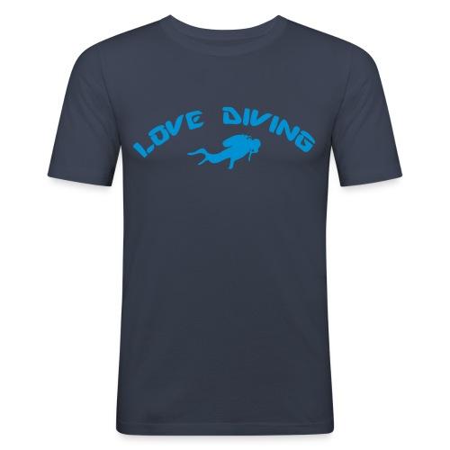 love diving - Männer Slim Fit T-Shirt