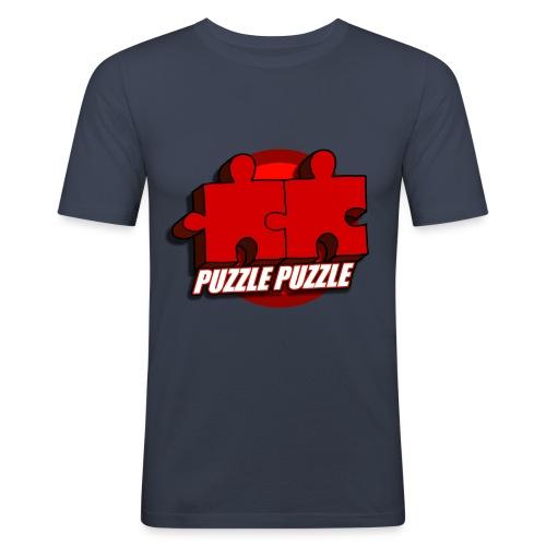 PuzzlePuzzle - Maglietta aderente da uomo