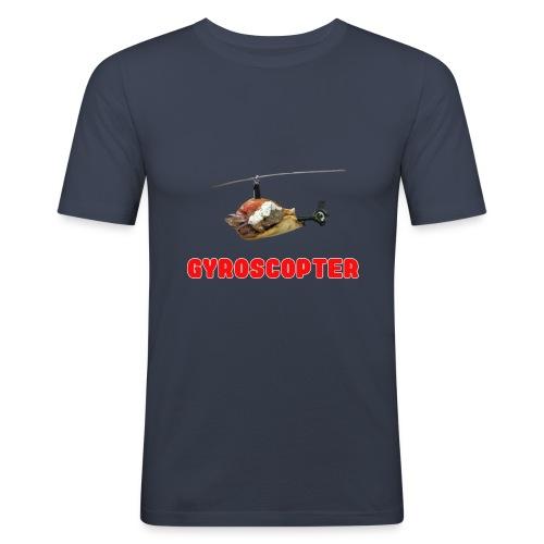 Gyroscopter - Männer Slim Fit T-Shirt