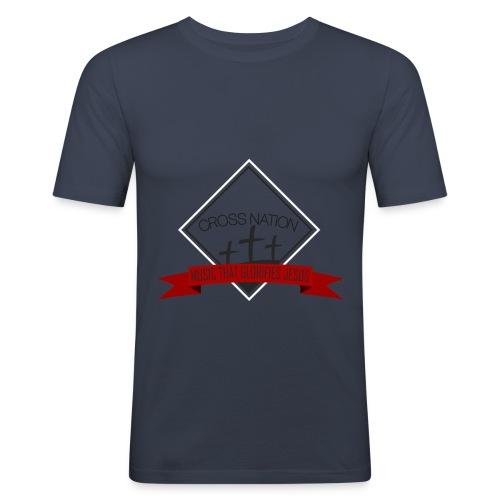 Cross Nation 2017 - Men's Slim Fit T-Shirt