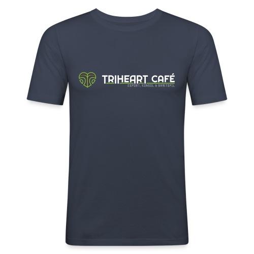 TRIHEART LOGO NY WHITER - Herre Slim Fit T-Shirt