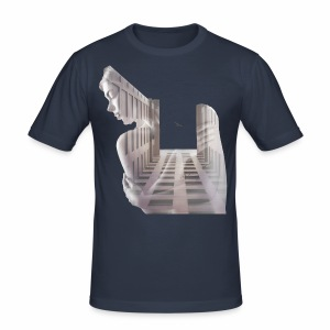 Lady House Exposure - Men's Slim Fit T-Shirt
