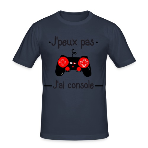 J'peux pas j'ai console - T-shirt près du corps Homme