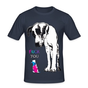 Fu** you - Männer Slim Fit T-Shirt