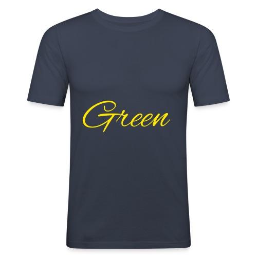Green - slim fit T-shirt