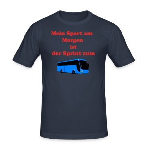 Faultier - Männer Slim Fit T-Shirt