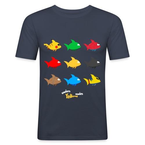 Swim! Yellow! Swim! - slim fit T-shirt